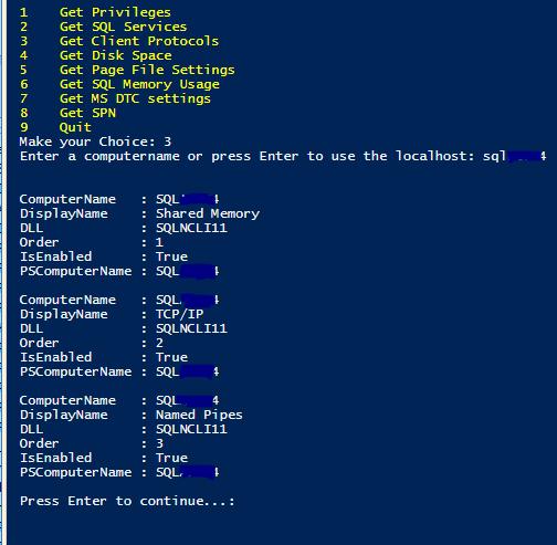 Wrapper script for dbatools computerinfo | The Power DBA