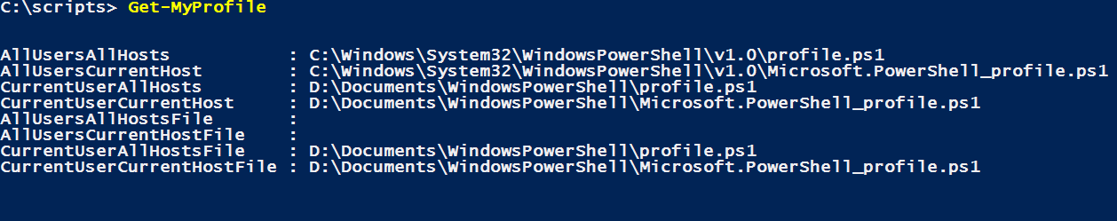 My PowerShell | The Power DBA